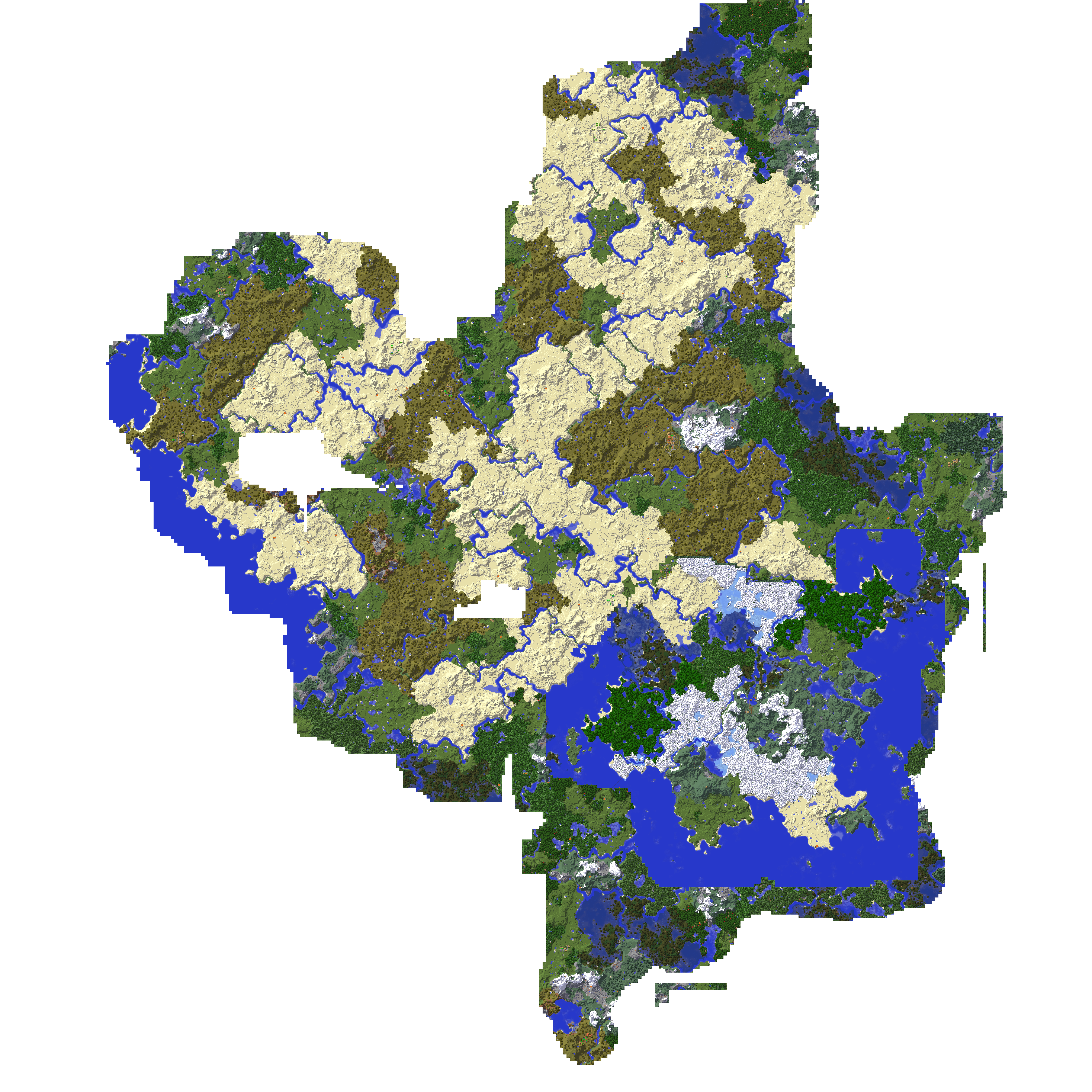 Second, The Second Vanilla Minecraft Map I Played, Again Years Old But Not  Quite As Old. My Intent Was To Start Fresh But With More Experience Playing  The ...